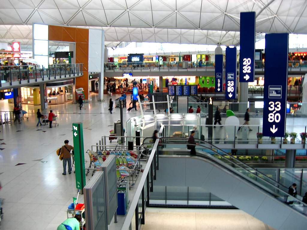 HTB]: 香港空港